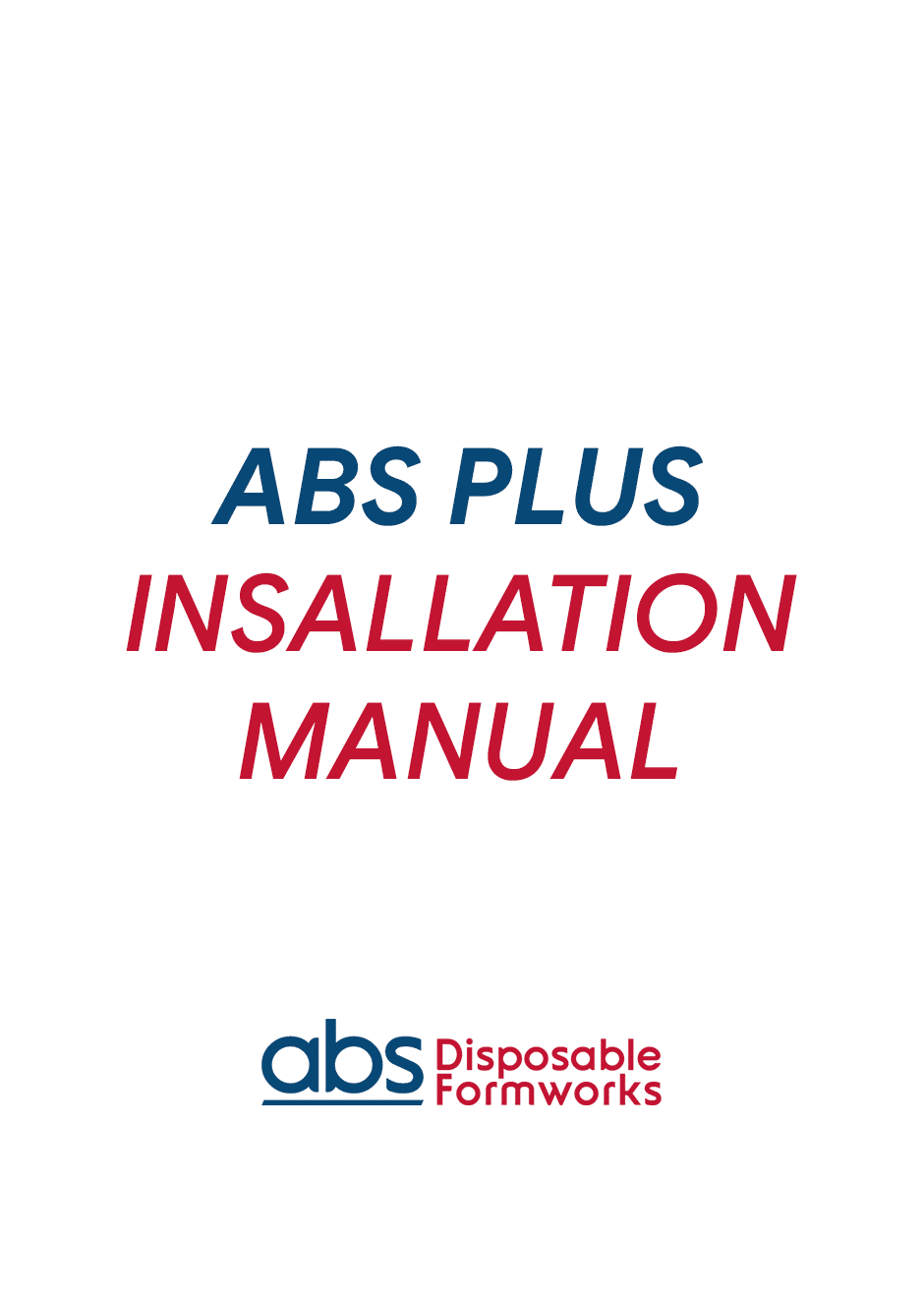 ABS_PLUS_INSALLATION_MANUAL