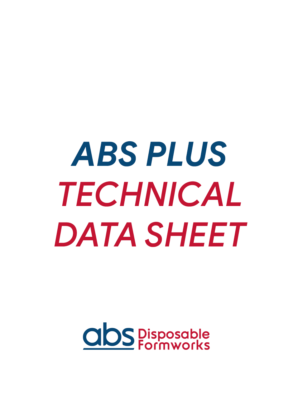 ABS_PLUS_TECHNICAL_DATA SHEET_COVER
