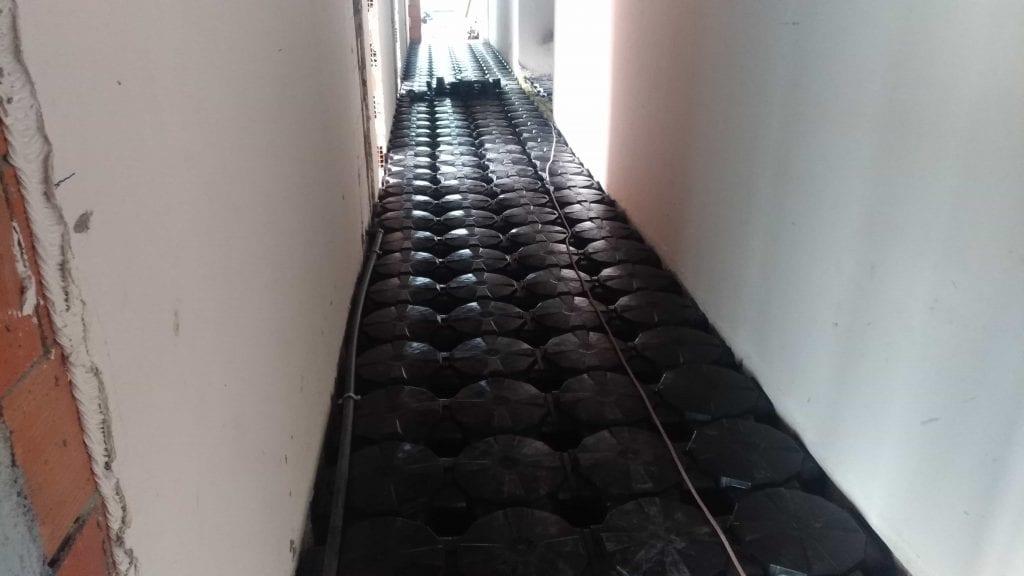 Elevetor/Staircase Hallway Filling