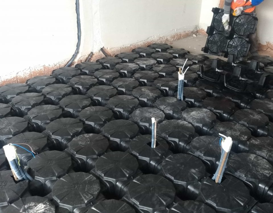 Reinforced Concrete Raised Floor