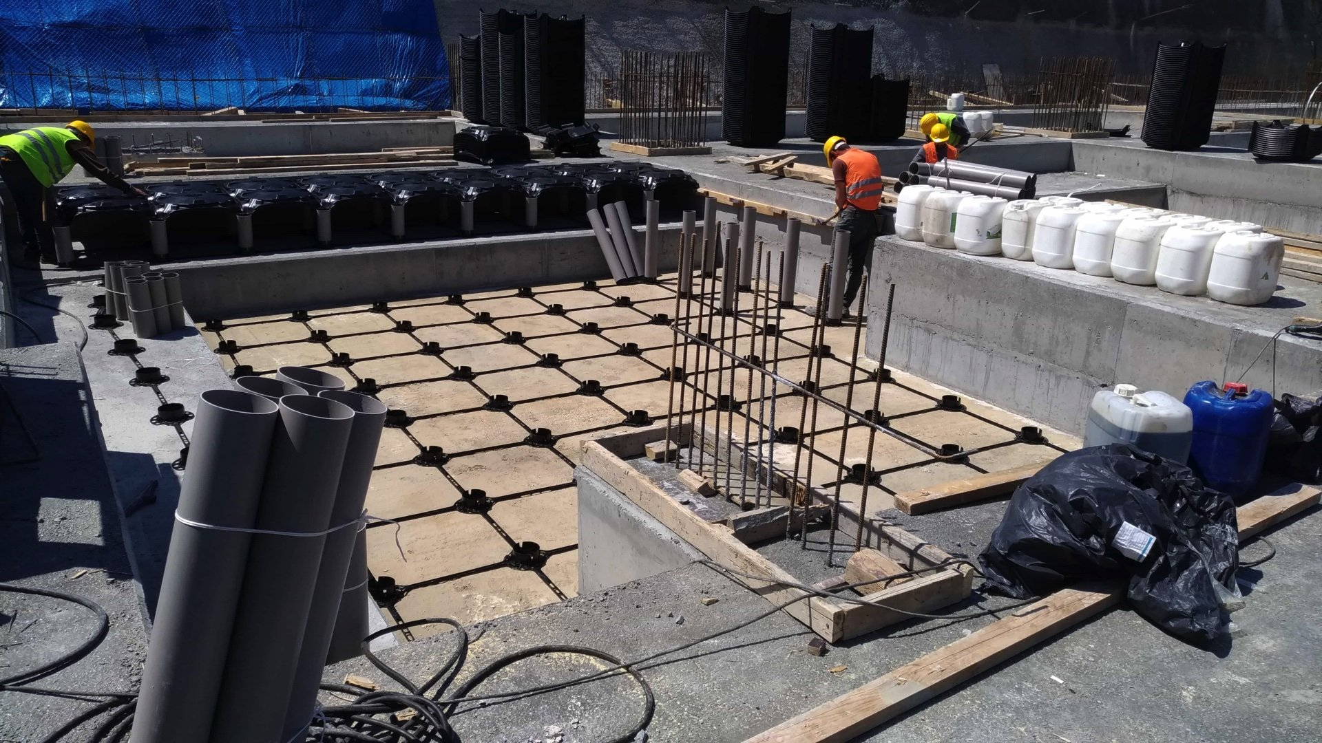 Filling Between Foundation Footings | ABS Disposable Formworks