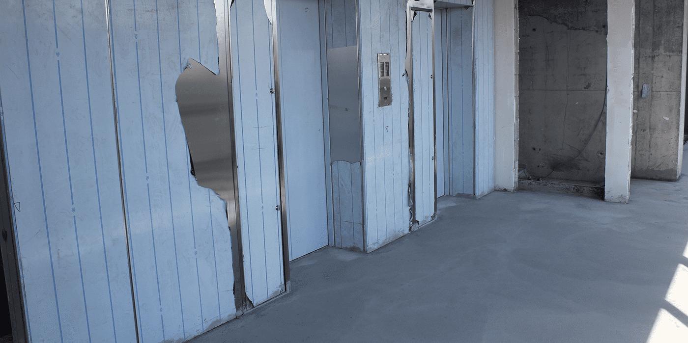 hallway filling