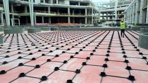 Sunken Slab Filling Grid