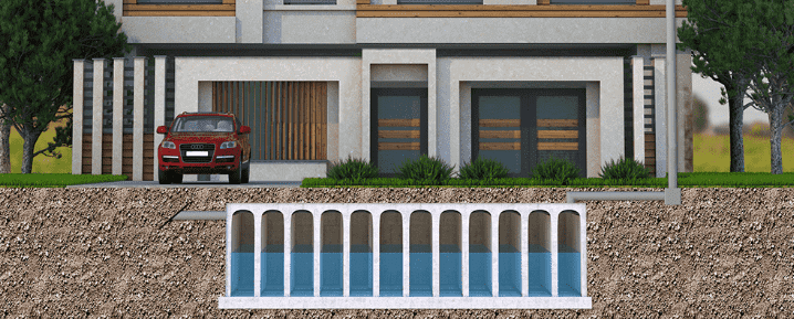 Rainwater harvesting and/or flood prevention
